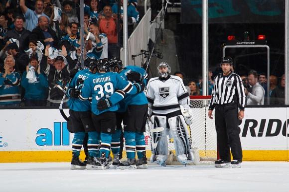 Los Angeles Kings v San Jose Sharks - Game Four