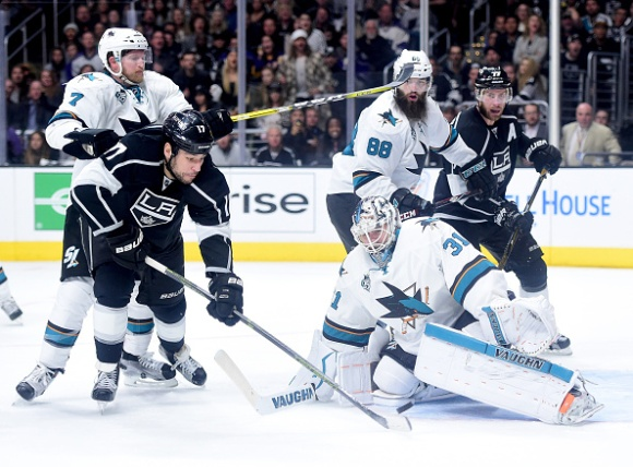 San Jose Sharks v Los Angeles Kings - Game Two