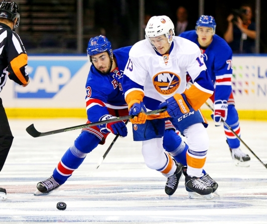 NHL: Preseason-New York Islanders at New York Rangers